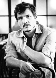 Pedro Pascal - his moustache is the best thing ever!