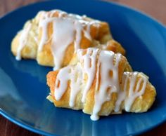 Apple Pie Crescent Rolls- make with homemade crescent roll recipe