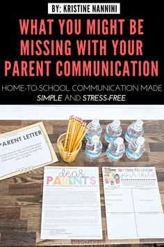 What Might Be Missing with Your Parent Communication - Kristine Nannini - Forms to use for parent volunteering in the classroom, keeping track of parent phone calls, and tip - Parent Volunteer Letter, Letter To Teacher, Meet The Teacher, 5th Grade Classroom, Classroom Jobs, Family Communication, Preschool Parent Communication, Classroom Management Styles, School Folders