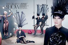 Photo The Greatest Show by Maurizio Bavutti for CR Fashion Book S/S 2014