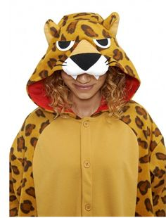 Leopard Kigu | Featuring fierce eyes and a gorgeous leopard print design, this onesie is wild in more ways than one!