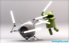 The Battle: Apple VS Android #humor #lol #funny