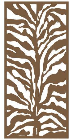 Zebra Print, Animal Print Rug, Metal Garden Screens, Garden Screening, Green Cream, Fencing, Sunlight, Garden Design, Africa