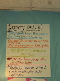 Cardigans and Curriculum: Teach Sensory Details with Bacon! - g-cooking. Writing Strategies, Writing Lessons, Writing Resources, Teaching Writing, Teaching Ideas, Third Grade Writing, 6th Grade Reading, Guided Reading, Sensory Language
