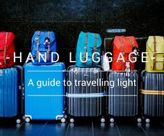 How to travel with just hand luggage | TheTwoScoops #travelhacks #packingtips #howtopack #handluggage #travellight #traveltips