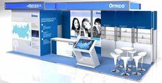 Портфолио. Выставочный стенд ORMCO, Москва | Okeystudio