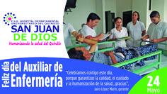 Dia del auxiliar de Enfermería Hospital Departamental Universitario del Quindío San Juan de Dios