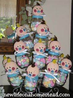 Baby food jars - Click image to find more DIY & Crafts Pinterest pins