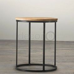 Add an industrial flair to your living room, dining room, office, lobby, or lounge with the Baron Industrial Multi-Purpose Side Table. This industrial style side table is made from wrought iron and solid wood seat top.