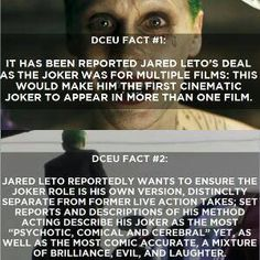 Hmm, I hope this is true. I'm really excited to see Jared Leto! <3