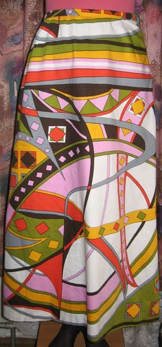 Винтажная женская юбка на молнии. от VIRTTARHAR на Etsy