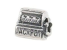 Zable Sterling Silver Slot Machine Jackpot Bead  Charm -- To view further for this item, visit the image link.