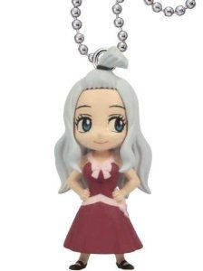 Amazon.com: Fairy Tail Deformed Mini Swing Keychain 04 - Mirajane Strauss: Toys & Games