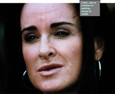 """KYLE RICHARDS:  Kyle's New Hair Product... Are YOU """"Underappreciated... Sad...Overworked""""?... Take One Of Kyle's Pills And It Will All Go Away!!!"""