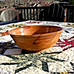 Wild Cherry Bowl 32 by thequilthaus on Etsy