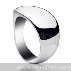 Zephyr silver ring L