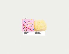 Pantone Pairings - cake & ice cream