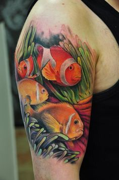 Love clown fish but not enough to get the tattoo