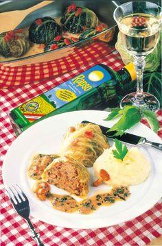 Gołąbki z kapusty włoskiej - pyszności :) #przepis #VOG #gołąbki #kapusta #smak