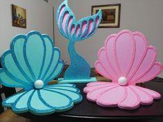 1st Birthday Girl Decorations, Mermaid Party Decorations, Mermaid Theme Birthday, Mermaid Parties, Baby Girl Birthday, Birthday Party Themes, Mermaid Diy, Wedding Balloons, Creations