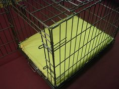 Dura-Crate..Special crate beds for dogs who destroy everything. <-LOVE IT!!!! We have a serious chewer and he has not put a toothmark on this crate pad in the two ears we have had it. Worth EVERY cent!