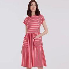 Simplicity Sewing Pattern S9136 Misses' Dress Plus Size Sewing Patterns, Simplicity Sewing Patterns, Miss Dress, Bias Tape, Feminine Dress, Sewing Clothes, Diy Clothing, Dress Patterns, Dress Making