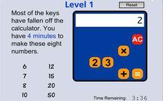 Problem Solving Games for Key Stage 2 children