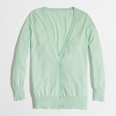 J.Crew Factory - Factory summerweight cotton cardigan