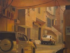 Ussama Bin Naveed-Asr- Oil on canvas-18x24 Inches-2013