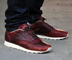#Reebok Classic Leather Lux CF #sneakers