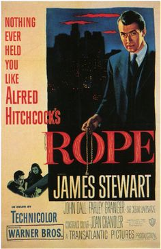 Rope directed by Alfred Hitchcock #film #mystery #crime