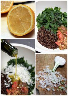 taboulé libanais lentilles