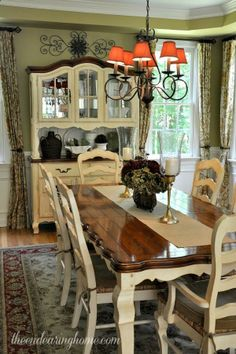 The Endearing Home Restyle, Repurpose, Reorganize. French Country Dining  TableCountry ...