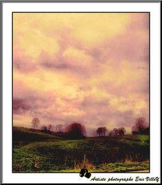 paysage de LANNES....Champagne Ardenne by Artiste photographe -ERIC VILLEY-et-Carine