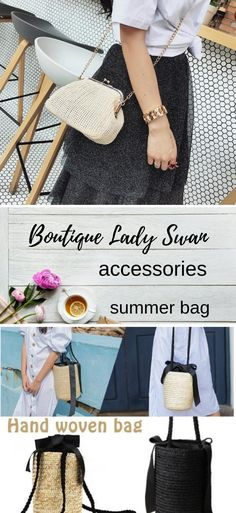 Discover perfect bikinis,swimsuits and beach wear. Choose your style this summer. As well as find a variety of accessories and jewellery. Beach Accessories, Women Accessories, Summer Bags, Rattan, Beachwear, Hand Weaving, Your Style, Espadrilles, Swimsuits