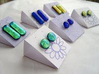 Lazy Daisy Gl Tutorial Earring Cards Display