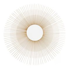 "Add a focal piece to your bedroom with this sunburst mirror from Aston Sutton ($76.85, amazon.com). This gold statement piece will take your wall from boring to ""wow"" without burning a hole in your wallet."
