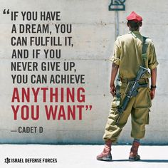 From a Small Village in Africa to an Officer in the IDF's Elite Duvdevan Unit.Cadet D. grew up quite differently to his fellow soldiers. He spent his childhood as a shepherd in a small village in Ethiopia, and made Aliyah to Israel at the age of 17, Cadet D. fought to get his high school diploma, and continued that fight in the army, where he did everything he could to get into the elite Duvedevan Unit.His dream was to serve as a Duvedan officer – and that's exactly what he's doing today.
