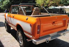 1976 IH Scout II -Back View