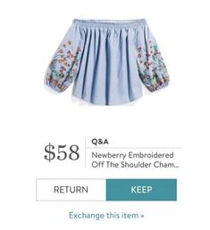 Stitch Fix ~ Spring 2018 Off Shoulder Blouse, Off The Shoulder, Boho Outfits, Fashion Outfits, What's Your Style, Stitch Fix Stylist, Personal Stylist, Stylists, March