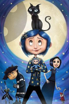 Coraline Characters Cathi S Collection Of 20 Coraline Ideas In 2020