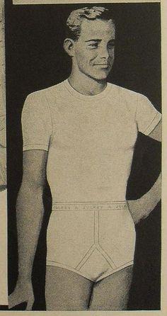 d4244f667bb4 1950s Jockey Shorts Briefs Men's Underwear Vintage Advertisement 2  Illustration by Christian Montone, via Flickr