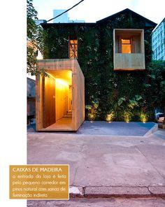 must visit: adriana barra in jardins, sao paulo Cubes, Rustic Outdoor, Outdoor Decor, Facade Lighting, Design Blog, Facade House, Interior Architecture, Interior Design, Exterior