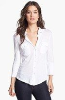 James Perse button down in white