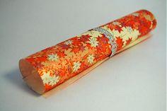 JaponskaZahrada / Handmade origami papier - Jesenné lístie červené