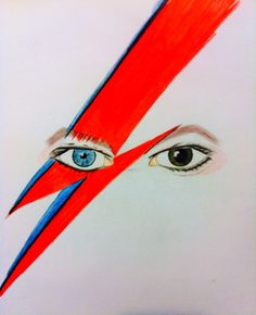 While listening to #davidbowie  #music #art #drawing