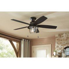 Hunter-Allegheny-52-in-New-Bronze-Flush-Mount-Ceiling-Fan-with-Light-Kit