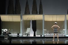Death in Venice. Teatro La Fenice. Scenic design by Pier Luigi Pizzi. 2008