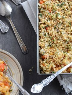 Cute Casserole Recipes You Must Try: White Bean Casserole with Crunchy Onion Topping