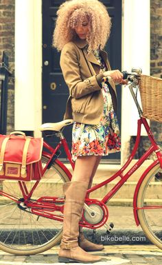 lady in red / cyclechic